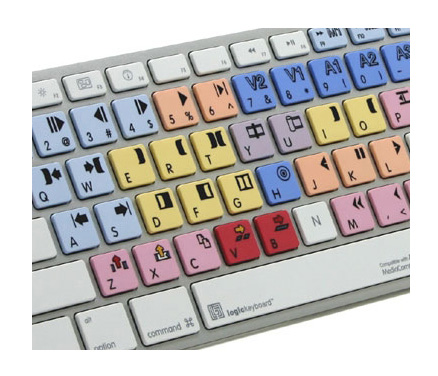 Avid Custom Keyboard for Mac