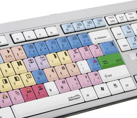 Avid Custom PC Keyboard